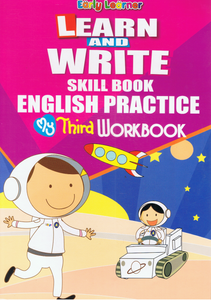 Early Learner-Learn And Write Skill Book English Practice My Third Workbook-9789833258871-BukuDBP.com