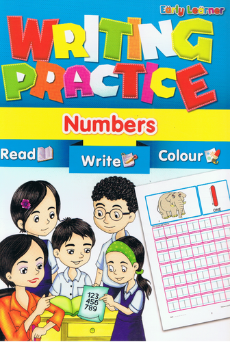 Early Learner-Writing Practice Numbers-9789833132140-BukuDBP.com