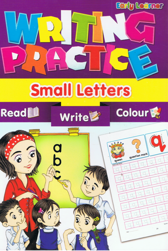 Early Learner-Writing Practice Small Letters-9789833132126-BukuDBP.com