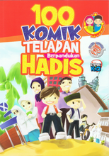 Load image into Gallery viewer, Edukid Publication-100 Komik Teladan Berpandukan Hadis-9789670880143-BukuDBP.com