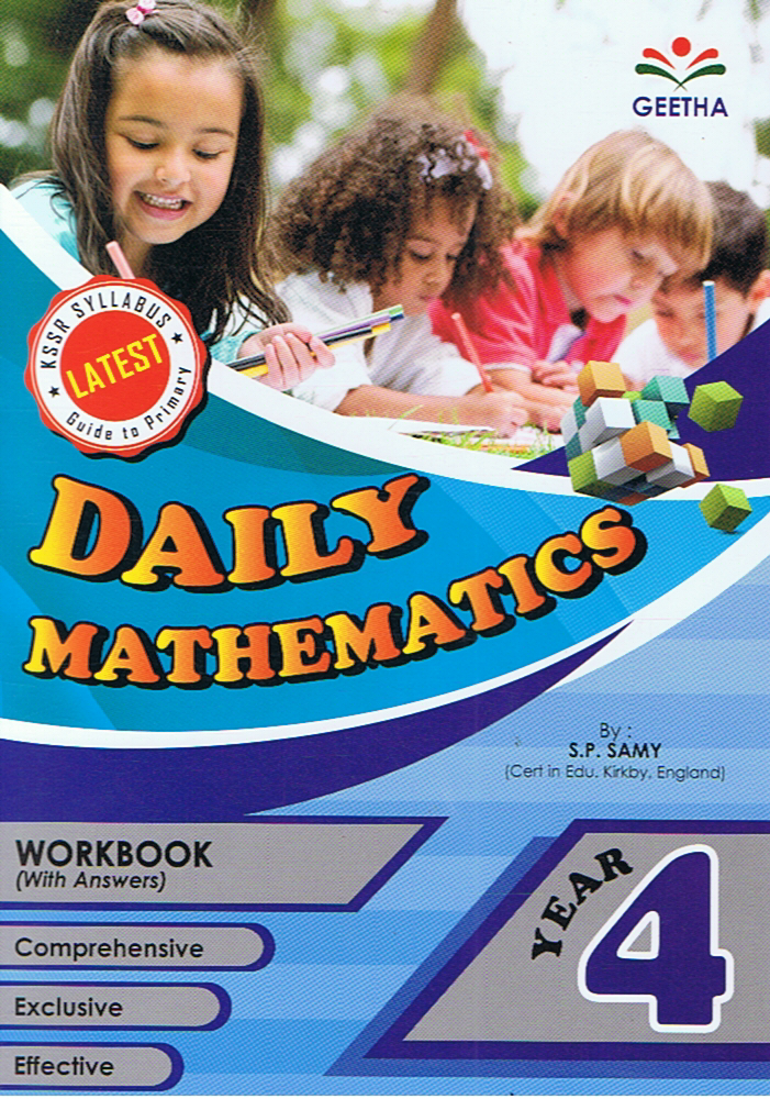 Geetha-Daily Mathematics Year 4-9789839594812-BukuDBP.com