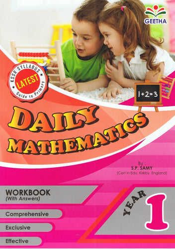 Geetha-Daily Mathematics Year 1-9789839594683-BukuDBP.com