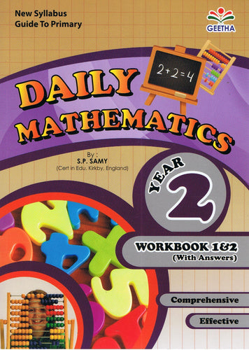Geetha-Daily Mathematics Year 2-9789839594713-BukuDBP.com