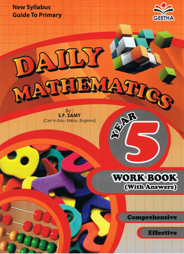 Geetha-Daily Mathematics Year 5-9789839594874-BukuDBP.com