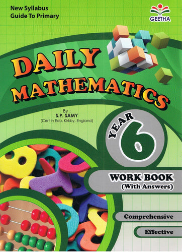 Geetha-Daily Mathematics Year 6-9789839594898-BukuDBP.com