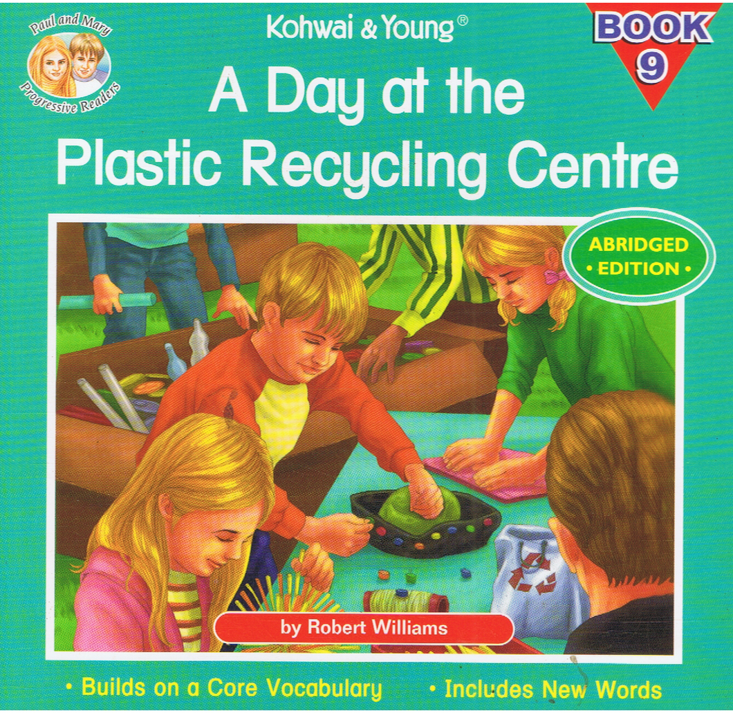 Kohwai & Young-A Day At The Plastic Recycling Centre Book 9-9789673177837-BukuDBP.com
