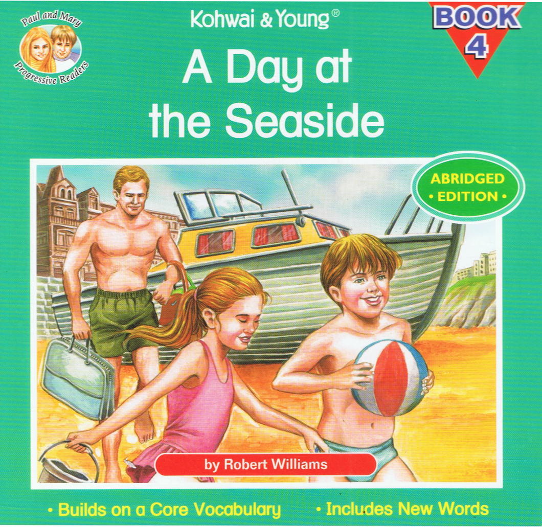 Kohwai & Young-A Day At The Seaside Book 4-9789673177783-BukuDBP.com