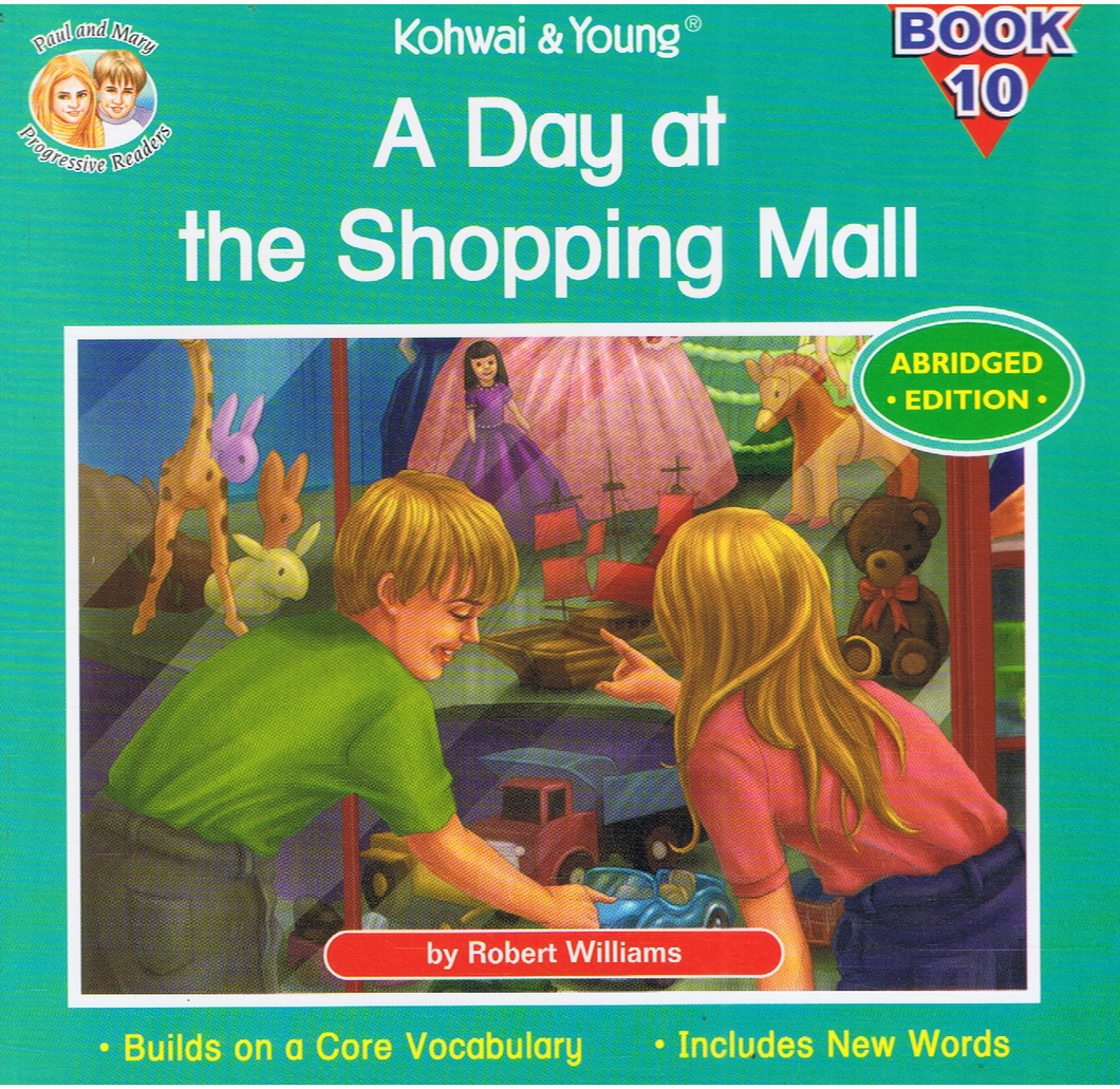 Kohwai & Young-A Day At The Shopping Mall Book 10-9789673177844-BukuDBP.com