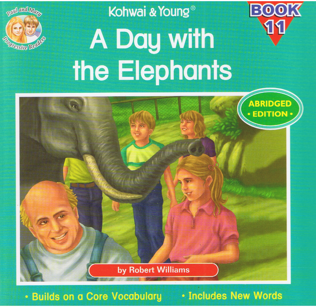 Kohwai & Young-A Day With The Elephants Book 11-9789673177851-BukuDBP.com