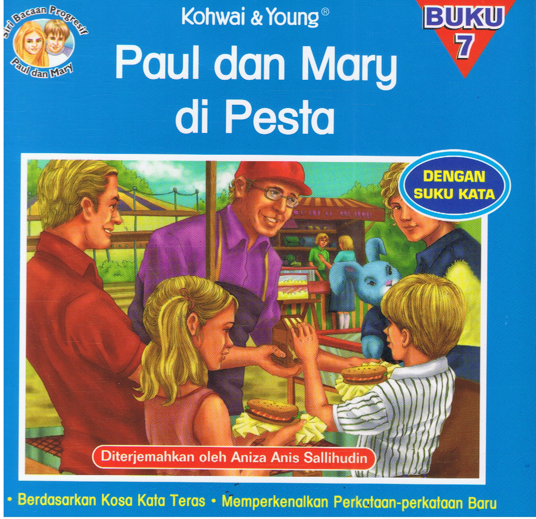 Kohwai & Young-Paul Dan Mary Di Pesta Buku 7-9789673178247-BukuDBP.com