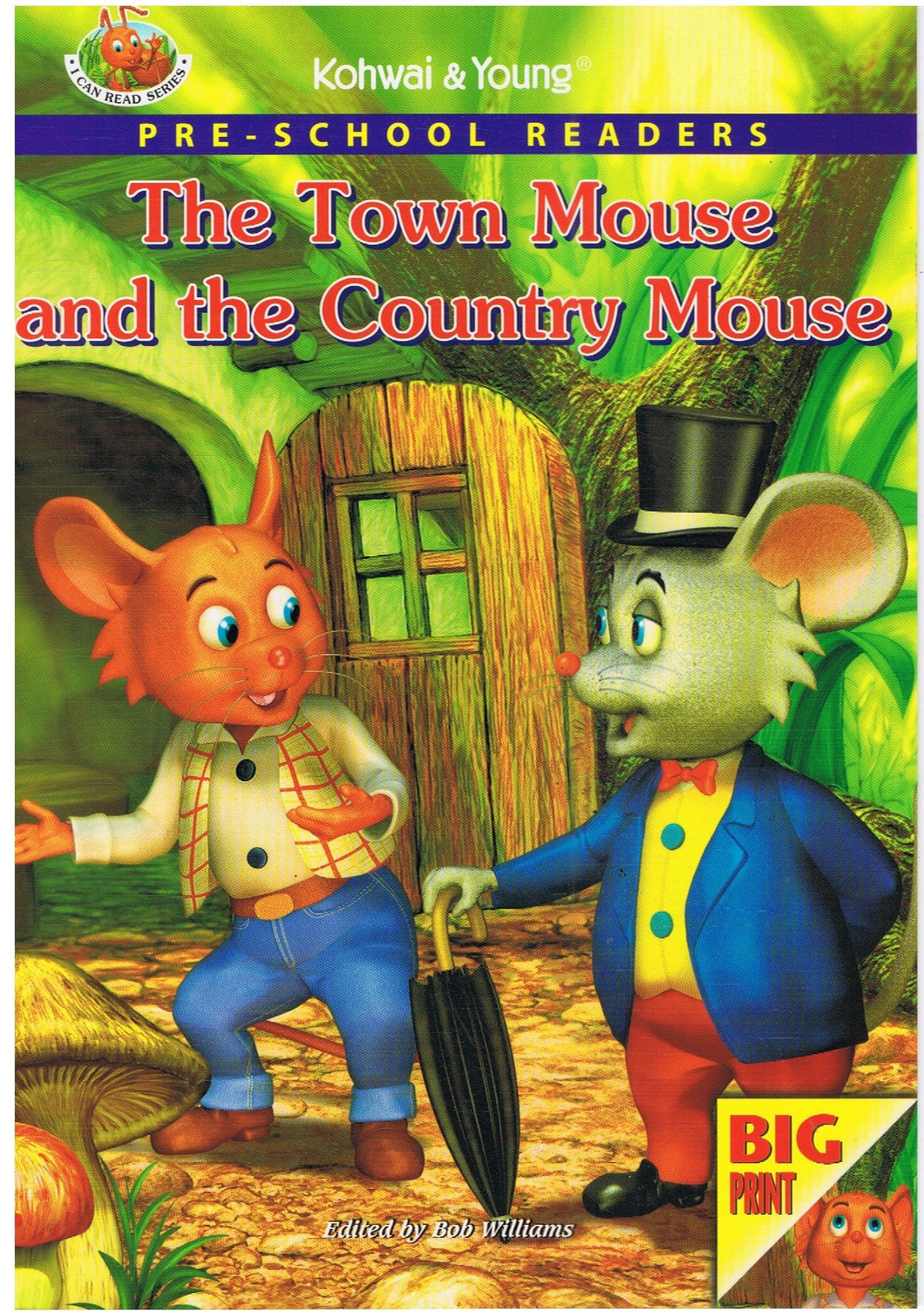 Kohwai & Young-Pre-School Readers: The Town Mouse And The Country Mouse-9789831911983-BukuDBP.com