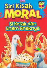Load image into Gallery viewer, Noon Publications-Siri Kisah Moral: Si Ketak & Enam Anaknya-9789675055768-BukuDBP.com