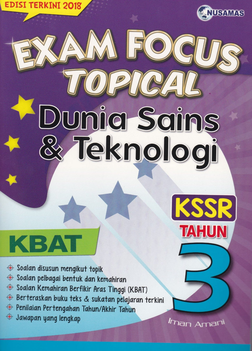 Nusamas-Exam Focus Topical: Dunia Sains & Teknologi Tahun 3-9789674369903-BukuDBP.com