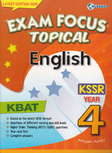 Load image into Gallery viewer, Nusamas-Exam Focus Topical: English Year 4-9789674369798-BukuDBP.com