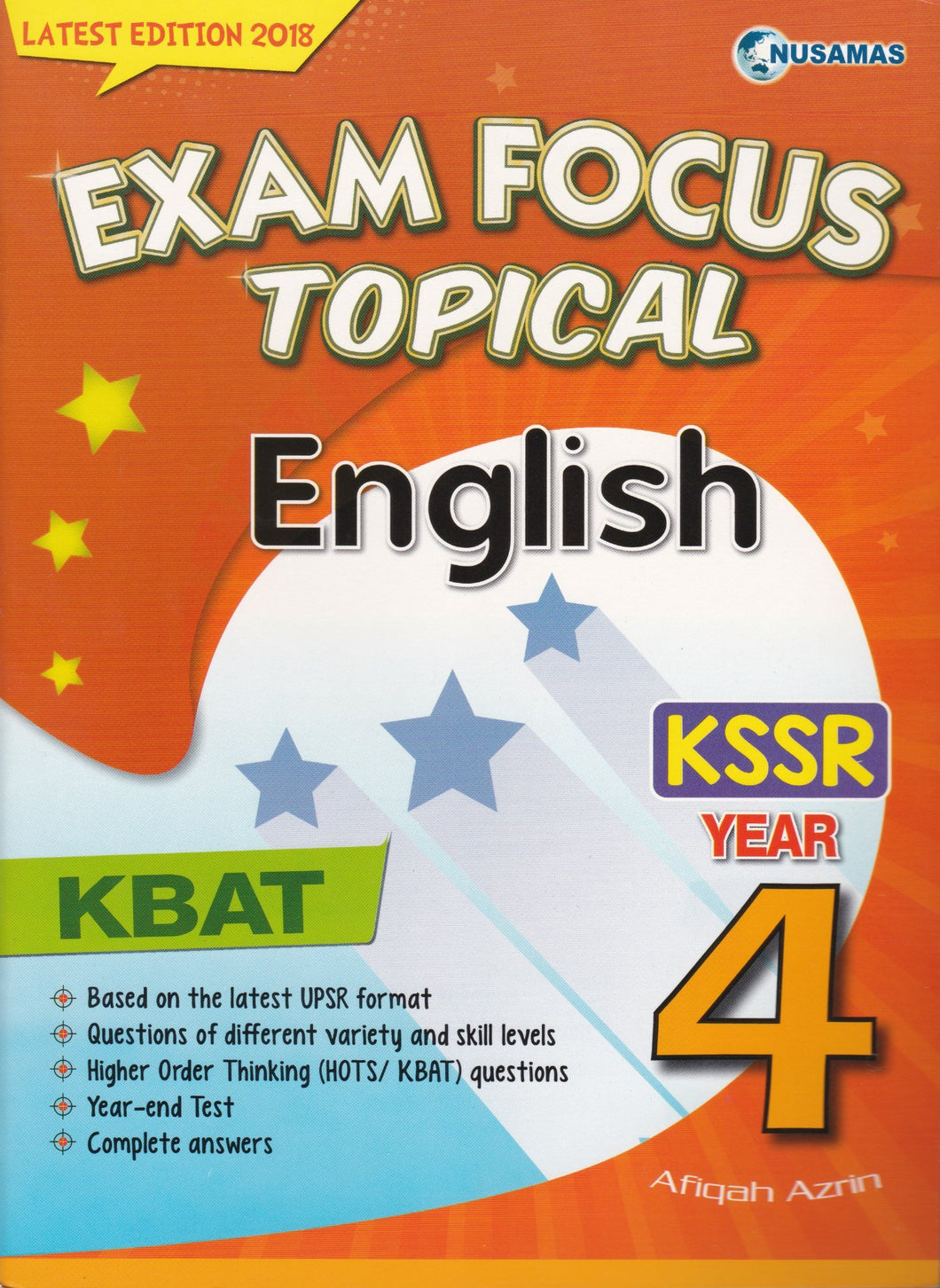 Nusamas-Exam Focus Topical: English Year 4-9789674369798-BukuDBP.com