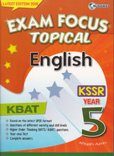 Load image into Gallery viewer, Nusamas-Exam Focus Topical: English Year 5-9789674369804-BukuDBP.com