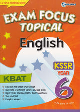Load image into Gallery viewer, Nusamas-Exam Focus Topical: English Year 6-9789674369811-BukuDBP.com