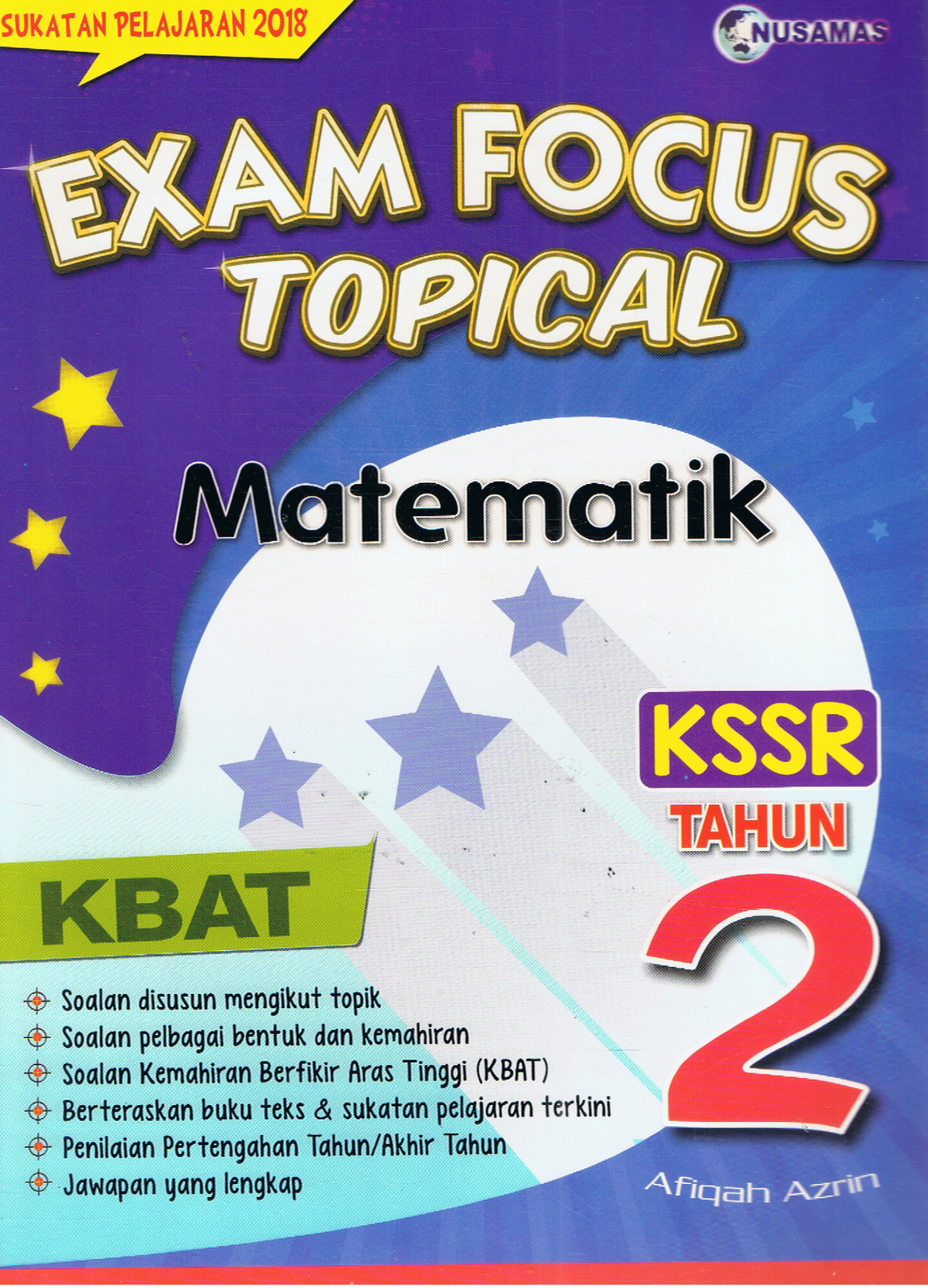Nusamas-Exam Focus Topical: Matematik Tahun 2-9789674369835-BukuDBP.com