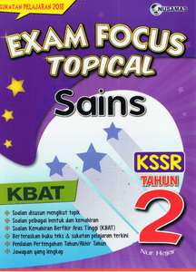 Nusamas-Exam Focus Topical: Sains Tahun 2-9789674369897-BukuDBP.com
