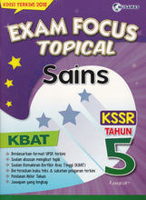 Load image into Gallery viewer, Nusamas-Exam Focus Topical: Sains Tahun 5-9789674369927-BukuDBP.com