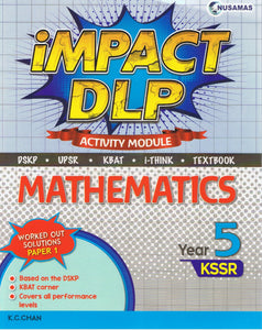 Nusamas-Impact DLP: Mathematics (Activity Module) Year 5-9789674870645-BukuDBP.com