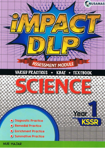 Nusamas-Impact DLP: Science (Assessment Module) Year 1-9789674870669-BukuDBP.com