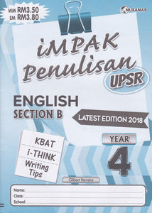 Nusamas-Impak Penulisan: English Section B Year 4-9789674870102-BukuDBP.com