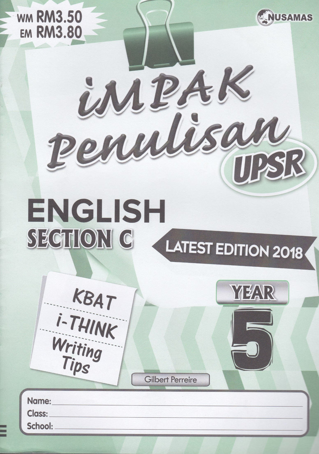 Nusamas-Impak Penulisan: English Section C Year 5-9789674870140-BukuDBP.com