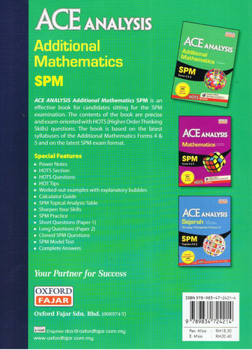 Oxford Fajar-Ace Analysis: Additional Mathematics SPM-9789834724214-BukuDBP.com