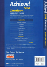 Load image into Gallery viewer, Oxford Fajar-Achieve SPM: Chemistry Model Test Papers-9789834724825-BukuDBP.com