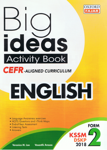 Oxford Fajar-Big Ideas Activity Book: English Form 2-9789834724146-BukuDBP.com