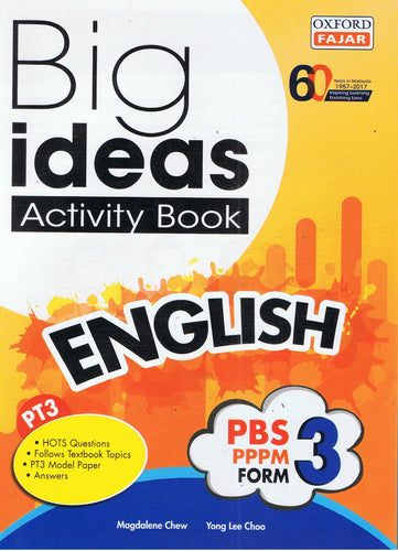 Oxford Fajar-Big Ideas Activity Book: English Form 3-9789834722968-BukuDBP.com