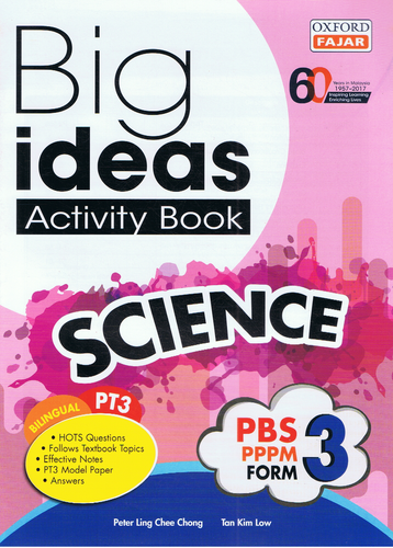 Oxford Fajar-Big Ideas Activity Book: Science Form 3-9789834722852-BukuDBP.com