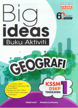 Load image into Gallery viewer, Oxford Fajar-Big Ideas Buku Aktiviti: Geografi Tingkatan 1-9789834722913-BukuDBP.com