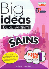 Load image into Gallery viewer, Oxford Fajar-Big Ideas Buku Aktiviti: Sains Tingkatan 1-9789834722838-BukuDBP.com