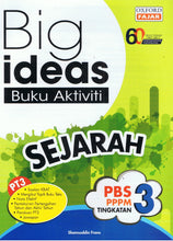 Load image into Gallery viewer, Oxford Fajar-Big Ideas Buku Aktiviti: Sejarah Tingkatan 3-9789834722906-BukuDBP.com