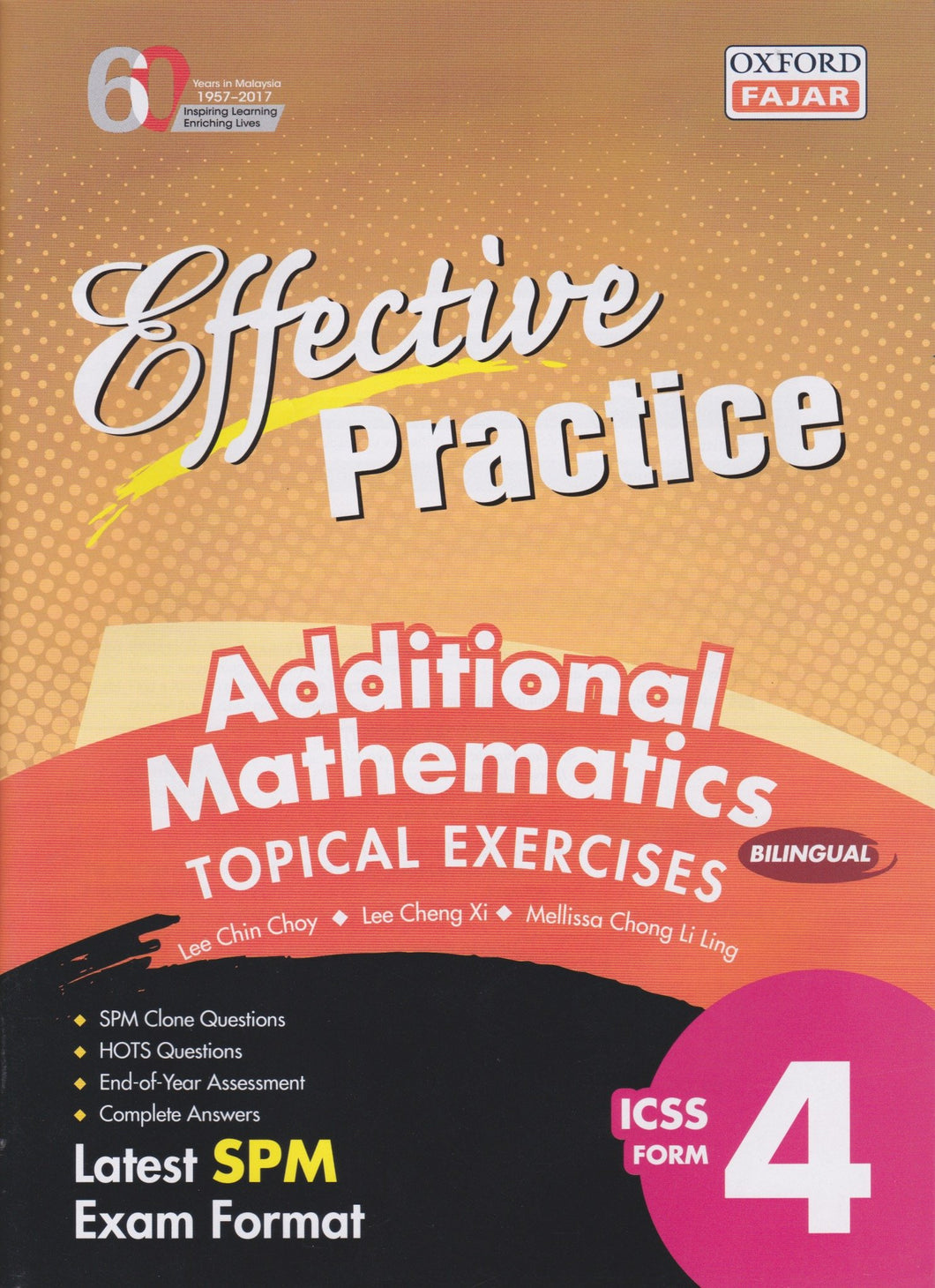 Oxford Fajar-Effective Practice: Additional Mathematics Topical Exercises Form 4-9789834722708-BukuDBP.com