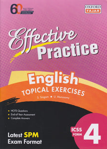 Oxford Fajar-Effective Practice: English Topical Exercises Form 4-9789834722814-BukuDBP.com