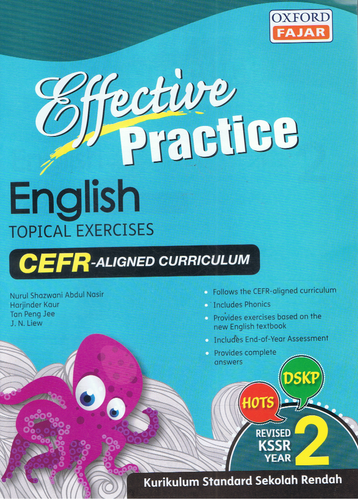 Oxford Fajar-Effective Practice: English Topical Exercises Year 2-9789834722425-BukuDBP.com