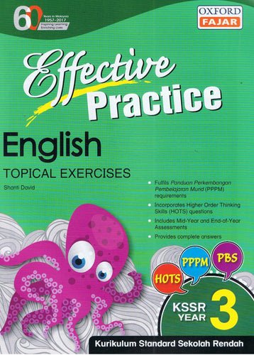 Oxford Fajar-Effective Practice: English Topical Exercises Year 3-9789834722432-BukuDBP.com
