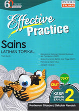 Load image into Gallery viewer, Oxford Fajar-Effective Practice: Sains Latihan Topikal Tahun 2-9789834722210-BukuDBP.com
