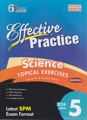Oxford Fajar-Effective Practice: Science Topical Exercise Form 5-9789834722630-BukuDBP.com