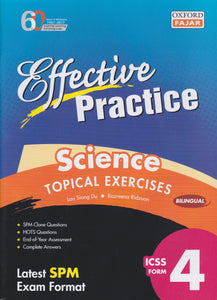 Oxford Fajar-Effective Practice: Science Topical Exercises Form 4-9789834722623-BukuDBP.com