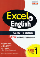Load image into Gallery viewer, Oxford Fajar-Excel in English (Activity Book) KSSM Form 1-9789834724054-BukuDBP.com