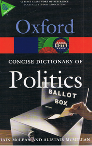 Oxford Fajar-Oxford Concise Dictionary Of Politics-9780199205165-BukuDBP.com