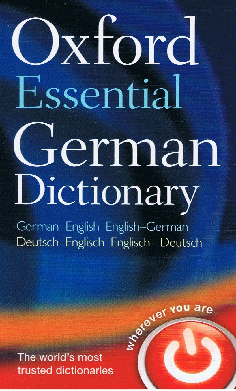 Oxford Fajar-Oxford Essential German Dictionary (German-English) (English-German)-9780199576395-BukuDBP.com