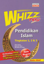 Load image into Gallery viewer, Oxford Fajar-Whizz Thru: Pendidikan Islam Tingkatan 1,2 & 3-9789834714697-BukuDBP.com
