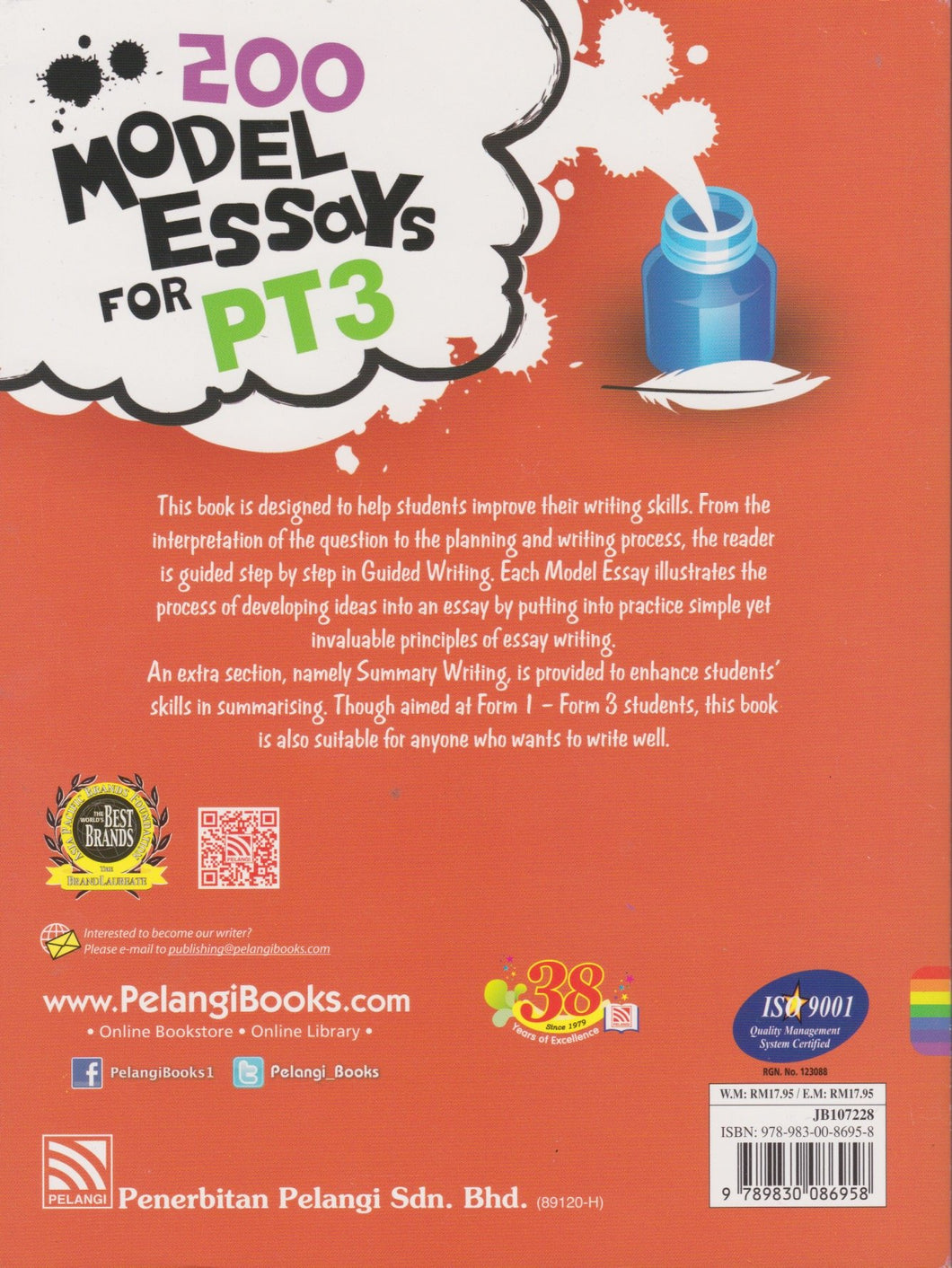 Pelangi-200 Model Essays For PT3-9789830086958-BukuDBP.com