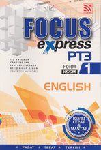 Load image into Gallery viewer, Pelangi-Focus Express: English Form 1-9789830085531-BukuDBP.com