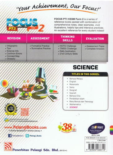 Pelangi-Focus PT3: Science Form 2-9789830088310-BukuDBP.com